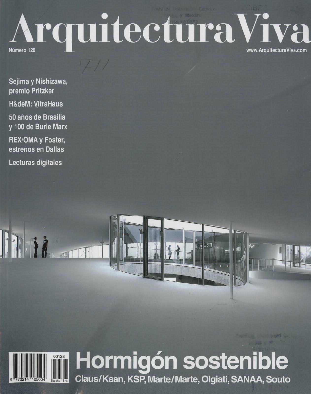 Opiniones de portada arquitectura for Portadas de arquitectura